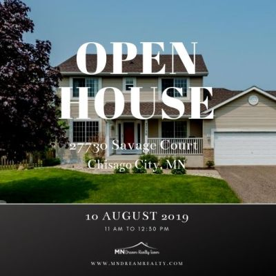 Open House at 27730 Save Court, Chisago City, MN