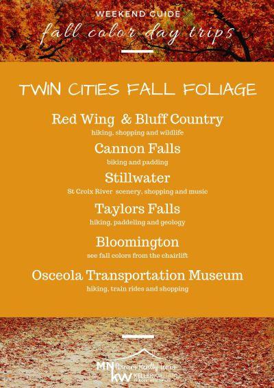 Fall Foliage Day Trips