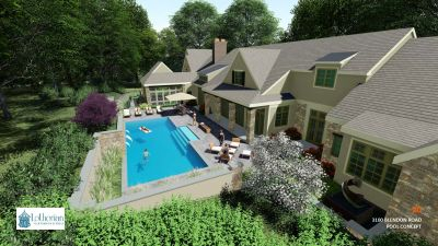 Estate Home at 3100 Blendon Rd Caves Valley Golf Club – New Renderings