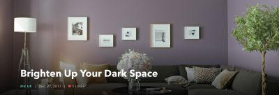 Brighten Up Your Dark Space