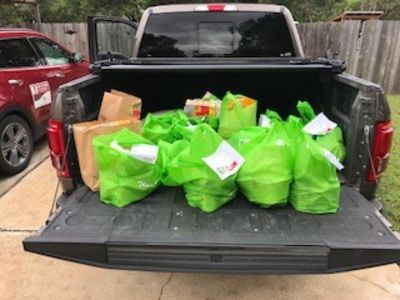 Keller Williams Food Drive for Hays county Food Bank