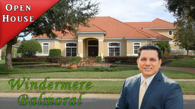 Open House Windermere Florida Balmoral Community