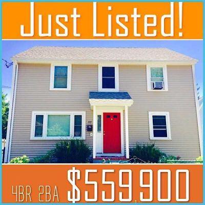 02132 Just Listed! Boston West Roxbury 4BR 2BA $559,900!