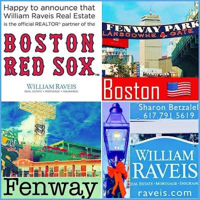 The Official Realtor of the Boston Red Sox is William Raveis Real Estate!