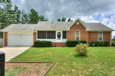 Updated North Augusta Brick Home with Excellent Living Space