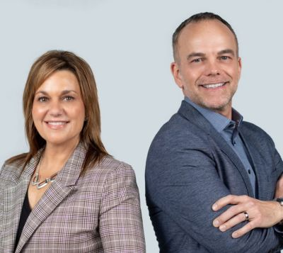 Todd Sullivan and Christine Mundel