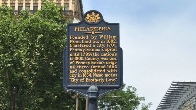 Philly Is Getting 5 More Historical Markers