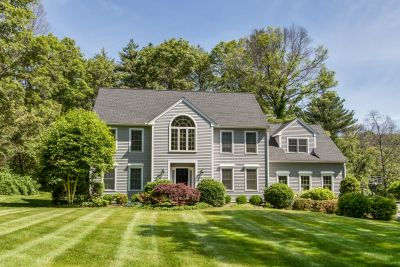 New Listing Alert! Location, location, location!!  Welcome to 30 Woods Crossing in Holliston.