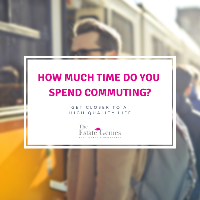 How much time do you spend commuting?