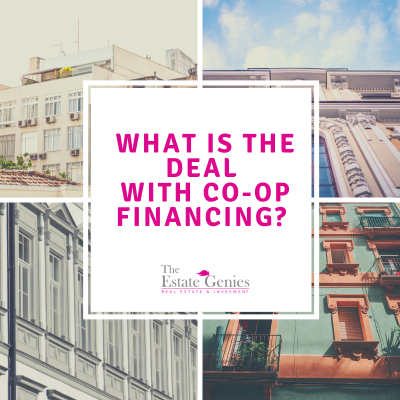 What's the deal with Co-op financing?