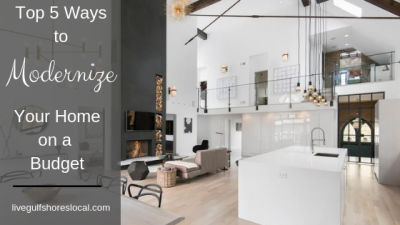 Top 5 Ways to Modernize Your Home on a Budget