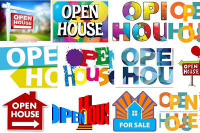 Open Houses for sale – What Can You Learn?