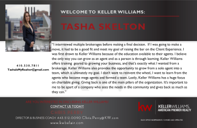 Tasha Skelton Joins Keller Williams