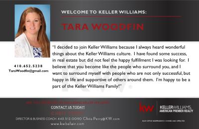 Tara Woodfin Joins Keller Williams