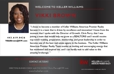 Vikki Brown Joins Keller Williams