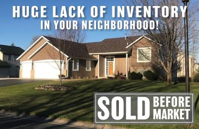 Just SOLD ~ 21175 Hyacinth Avenue, Lakeville for $335,000