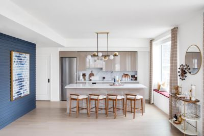 20 Lacquered Kitchen Cabinets We Love