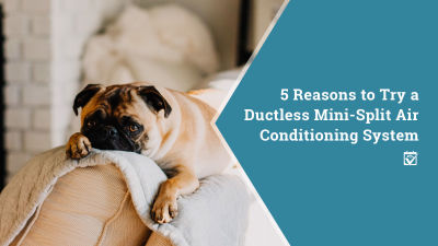 5 Reasons to Try a Ductless Mini-Split Air Conditioning System