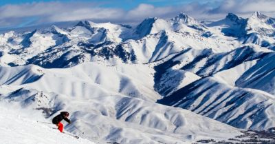 Sun Valley #2 in Ski Magazine and the Sun Valley Airline Schedule