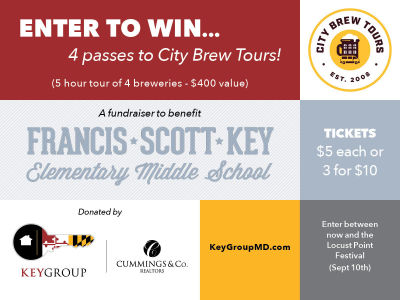 Raffle to support Francis Scott Key Elementary/Middle School PTO