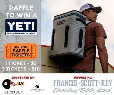 YETI Raffle to Support FSK