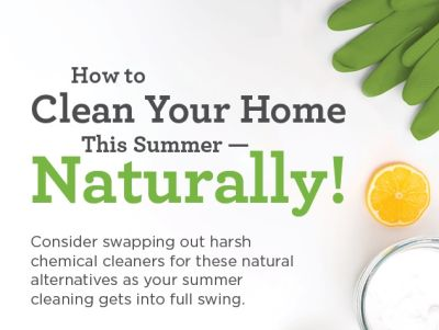 Clean Your Home Naturally!!