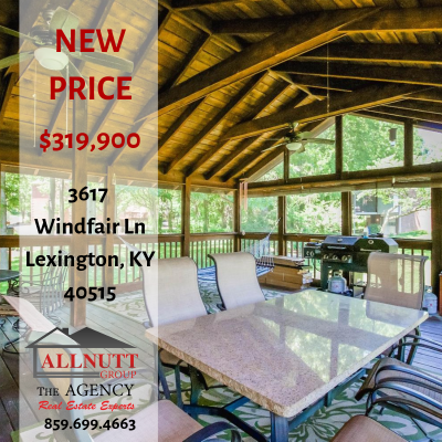 NEW PRICE 3617 Windfair Ln. Lexington, KY 40515