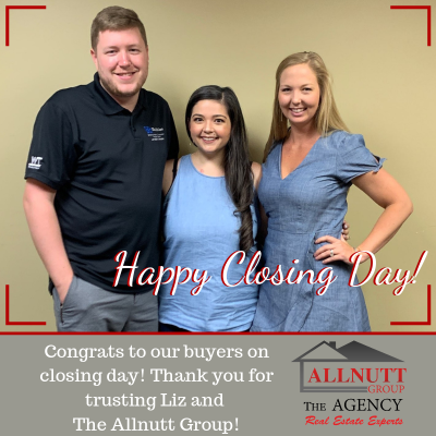 Closing Day for Liz Jameson and her Buyers!