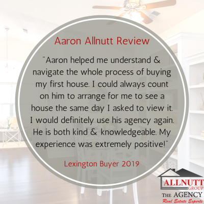 Aaron's Client Review