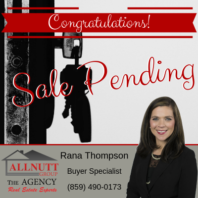 Rana & Her Buyers are Under Contract!