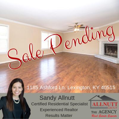 Sale Pending – 1185 Ashford Ln Lexington, KY 40515
