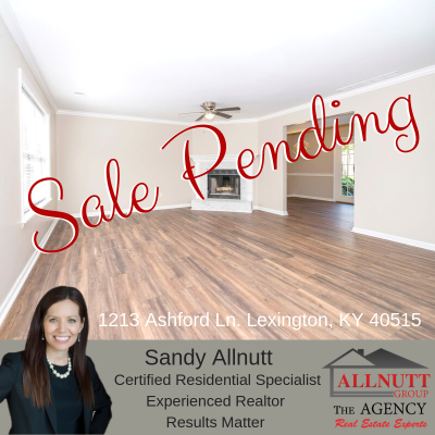 Sale Pending – 1213 Ashford Ln Lexington, KY 40515