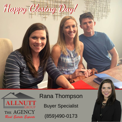 Closing Day for Rana and her Buyers!