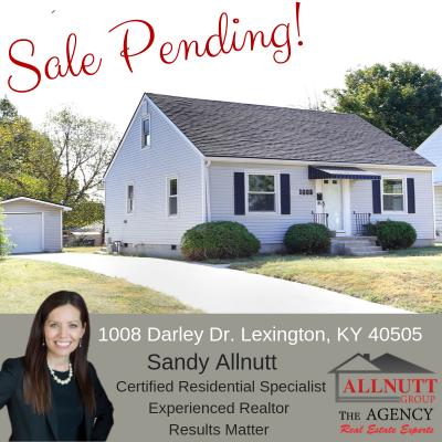 Pending – 1008 Darley Dr. Lexington, KY 40505
