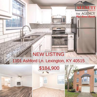 NEW LISTING – 1101 Ashford Ln. Lexington, KY 40515 – $184,900