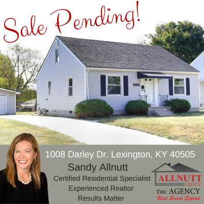 1008 Darley Dr. Lexington, KY 40505 – Sale Pending!