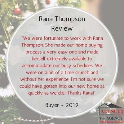 Rana Thompson Buyer Review