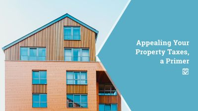 Appealing Your Property Taxes