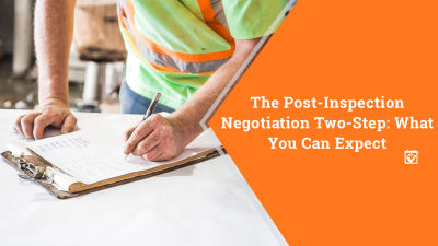 The Post-Inspection Negotiation