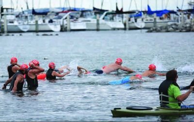 Sponsor My Swim for Grand Traverse Bay