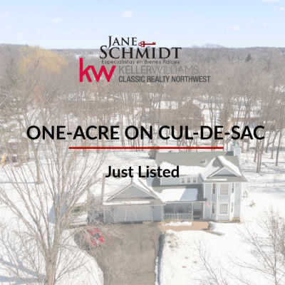 Just Listed: 1-acre Property on Cul-de-Sac