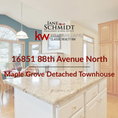 Just Listed: Maple Grove Detached Townhouse