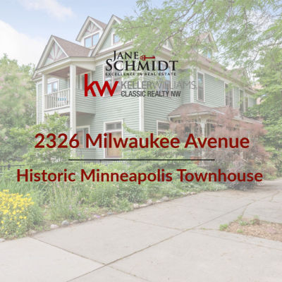Just Listed: Historic Minneapolis Townhouse