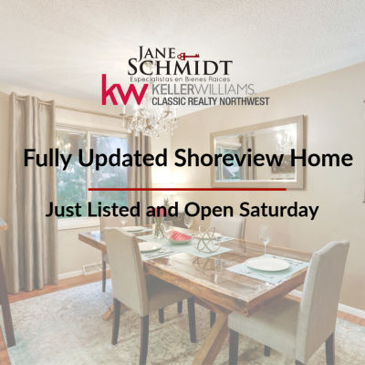 Just Listed: Open House in Shoreview