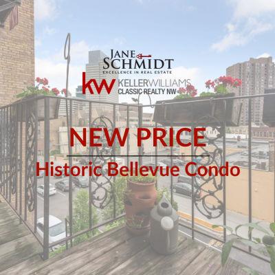 New Price: Minneapolis Condo in Historic Bellevue!