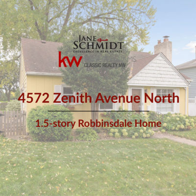 Just Listed: Updated 1.5-story in Robbinsdale