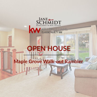 Open House: Maple Grove Walk-out Rambler