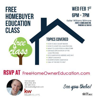 I'm hosting a Buyer's Seminar