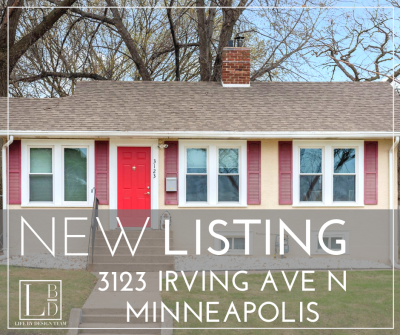 NEW LISTING – 3123 Irving Ave N, Minneapolis