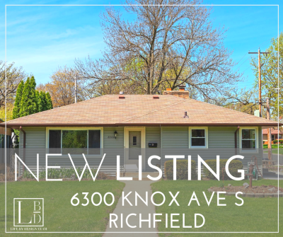 NEW LISTING – 6300 Knox Ave S, Richfield